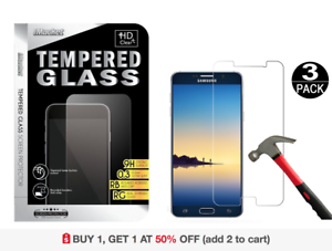 3-Pack-Tempered-Glass-Screen-Protector-for-Samsung-Galaxy-Note-4-Note-5-S5-S6-S7