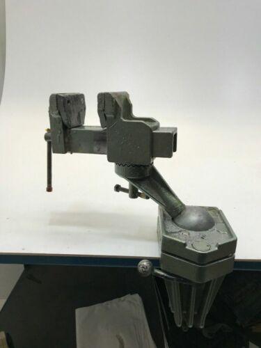 Stabiler Alu Profi Schraubstock 120mm Kugelgelenk Tischbefestigung