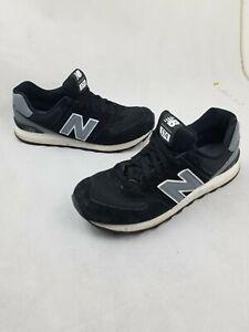 Details about New Balance Men's Classic 574 Reflective Black Grey Shoes ML574CNA Sz 9.5