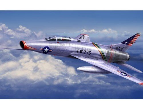 Trumpeter 07284. 07284. 07284. Model Airplane hunting F-100C Super Sabre. Scale 1 72 8013e8