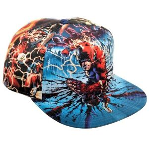 new style 5ac44 a00ec Image is loading DC-COMICS-THE-FLASH-FLASHPOINT-SUBLIMATED-PRINT-ALL-
