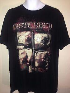 DISTURBED-THE-ASYLUM-2010-OFFICIAL-XL-T-SHIRT-ROCK-METAL-OUT-OF-PRINT