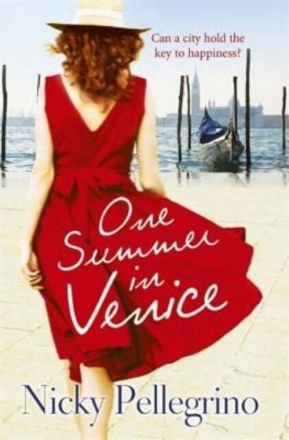One Summer in Venice, Pellegrino, Nicky, Very Good Book