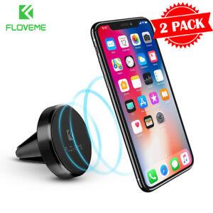 Car-Mount-Phone-Holder-Dock-Genuine-Spigen-Air-Vent-Magnetic-for-iPhone-Galaxy
