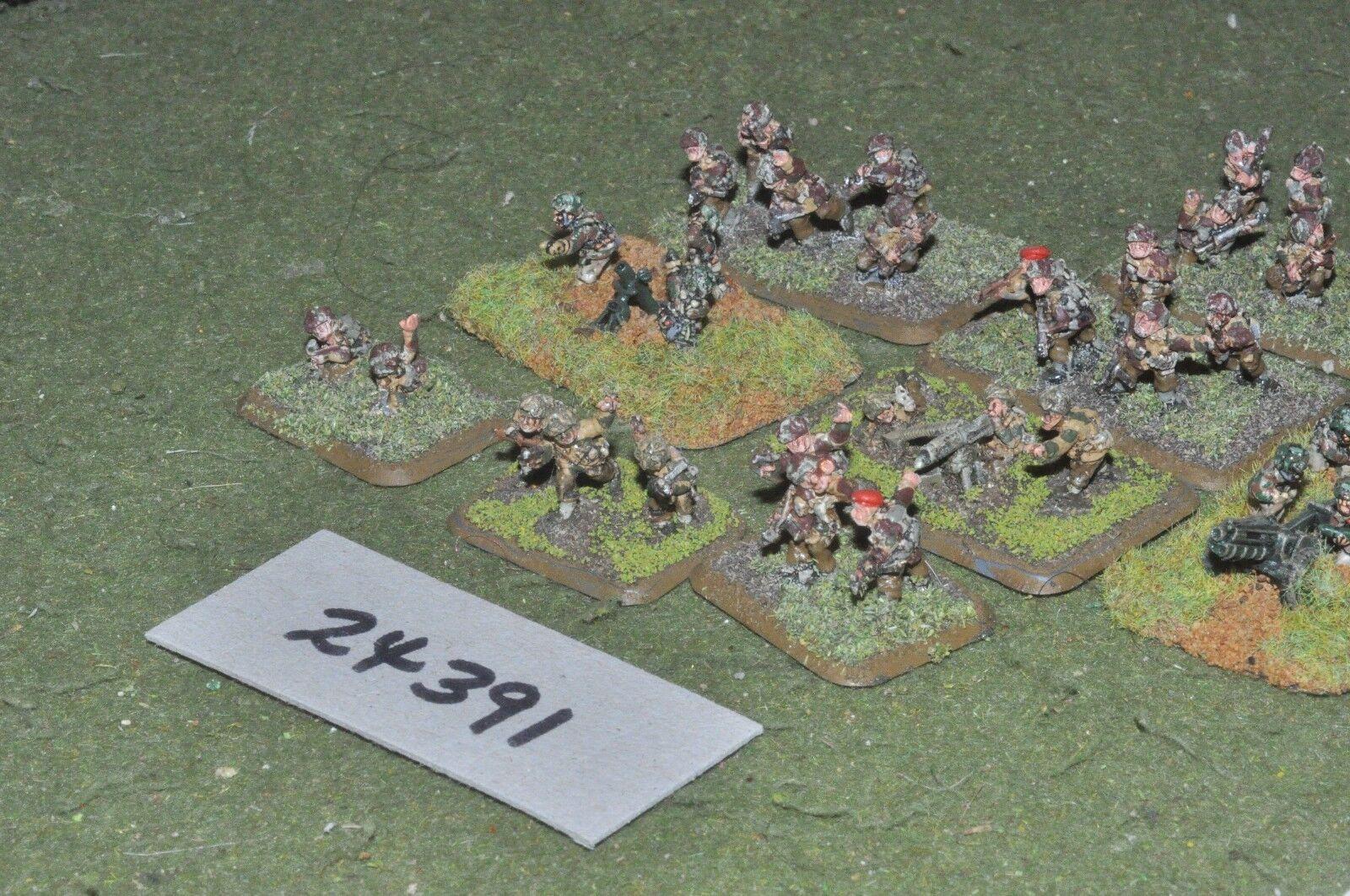 15mm WW2   british - platoon para 33 figures - inf (24391)