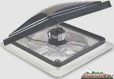 Fantastic RV Roof Vent Model 6000 Smoke w/ Rain Sensor