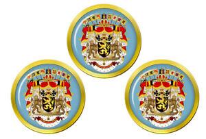 Royal-Crest-Belgique-Marqueurs-de-Balles-de-Golf