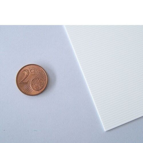 V-Rille Raster 1,3 mm Evergreen 2050 Stärke 0,5 mm 176,67€//m² 15 x 30 cm