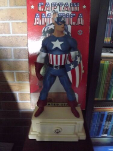 Statue Captain America 1940 N°23/2000 Signé Randy Bowen