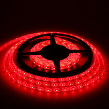 5M Red Waterproof Super Bright 3528 SMD 600 LED Flexible Strip light 12V 16FT