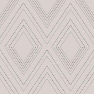 Alea-Papier-Peint-par-muriva-Fard-Argent-703041-Geometrique-Salle-a-Manger
