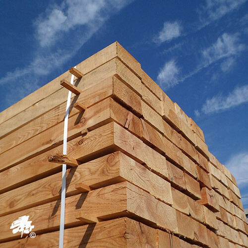 New Untreated Larch//Douglas Fir Sleepers Various Sizes Available