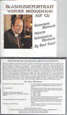 CD--WERNER BRÜGGEMANN--BLASMUSIKPORTRAIT-2CD