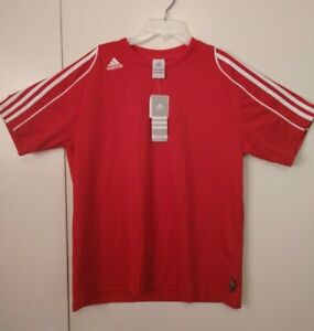 Adidas Squad II Womens Soccer Jersey Large Red w/White | eBay