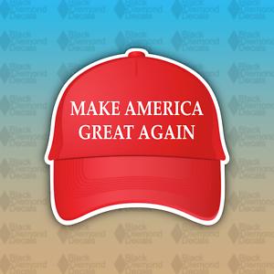 MAGA-Make-America-Great-Again-Red-Hat-Trump-Funny-4-034-Custom-Vinyl-Bumper-Sticker