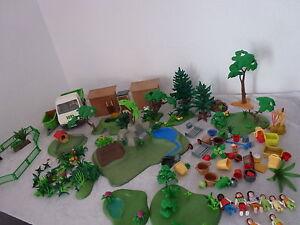 Playmobil Tierpark/Streichelzoo+OBA+UVM RIESEN SAMMLUNG KG  Rarität