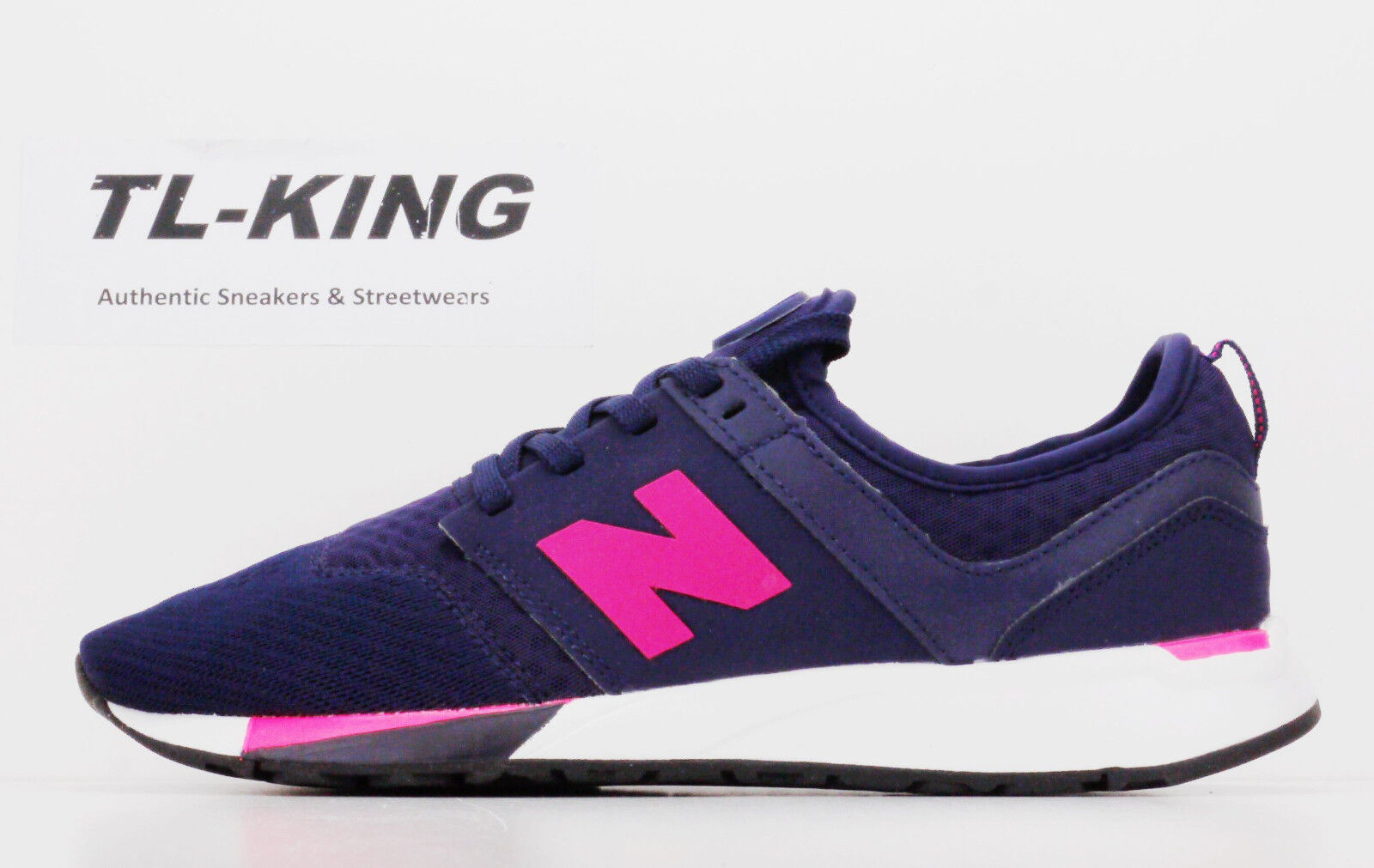 New Balance KL247NPG GS Youth Girls Purple Navy Pink White Msrp  Kg