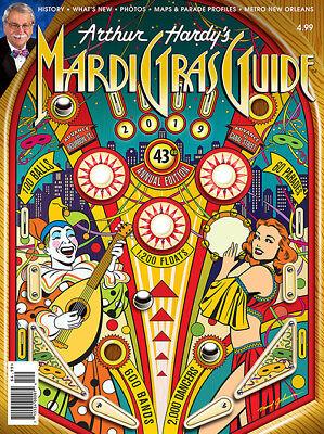 1993 Andrea Mistretta SHOW IT ALL Mardi Gras Art Print New Orleans Famous