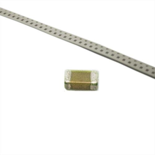 20X 0805X106K100CT Kondensator Keramik MLCC 10uF 10V X5R ±10/% SMD 0805 WALSIN