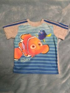 Boys Disney Finding Dory Tank Top /& Short Set Size 4T