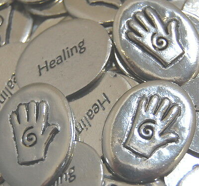 Hand Healing Coin Pocket Token Bulk Lot of 10