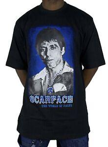 7c540d51 Scarface original licensed t shirts, rhinestones hiphop bling tees ...