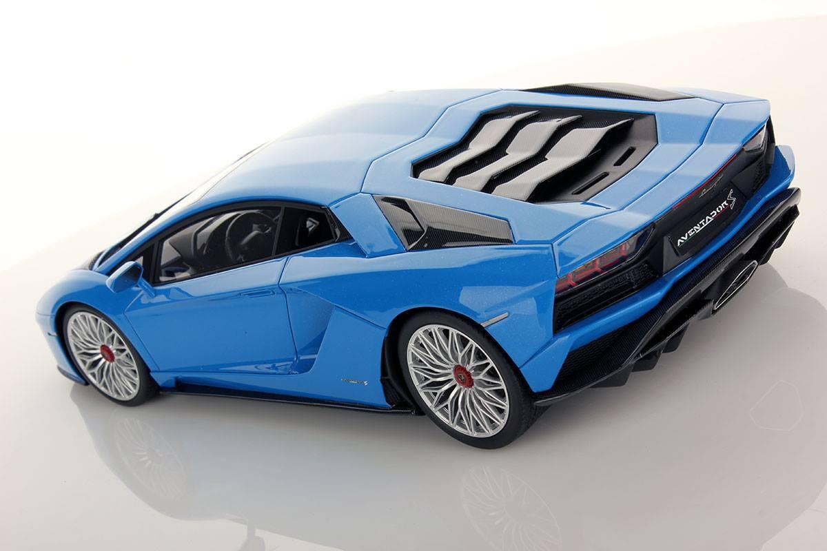 Vous Vous Vous ne pouvez pas acheter un téléphone portable ** et vous n'avez pas de rabais. MR Collection Lamborghini Aventador S Blu Nila   Showcase 1/18 | Outlet Online  | Outlet Shop En Ligne  | En Qualité Supérieure  736284