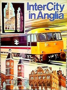 1988-Intercity-In-East-Anglia-Railway-Train-Booklet-Inter-City