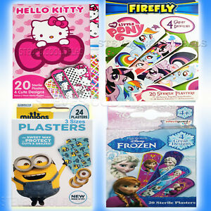 KIDS-PLASTERS-Transformers-My-Little-Pony-PJMASKS-BAND-AID-Water-Repellent