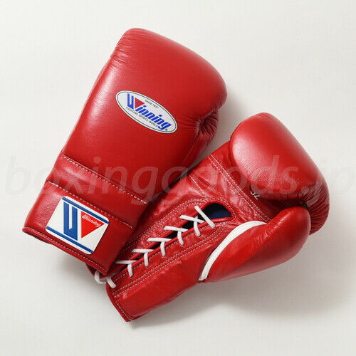 WINNING Boxing G s  16 oz MS600RE RED Pro type for practice String type  exclusive