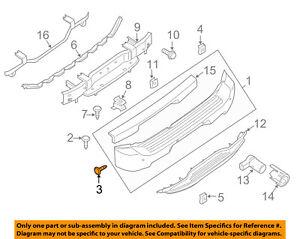 Details about Infiniti NISSAN OEM 04-10 QX56 Rear Bumper-Bumper Cover on