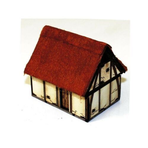 15mm 15S-DAR-102 4GROUND Saxon//Late medieval hovel
