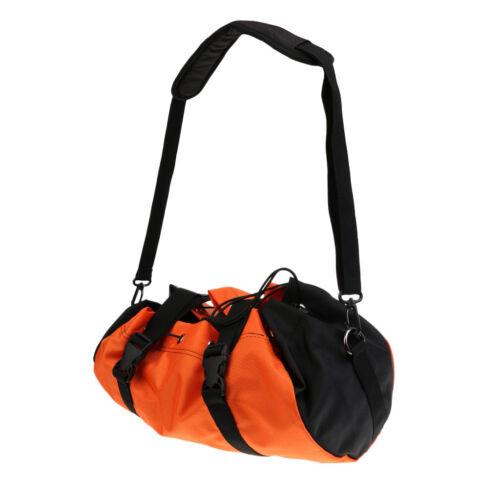 Pro Folding Rock Climbing Caving Rope Cord Bag Sling Backpack + Ground Sheet