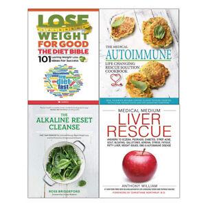 Details about Alkaline Reset Cleanse Medical Medium Liver Rescue Diet Bible  4 Books Set NEW