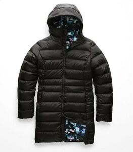 1ddbe058c The North Face Womens GOTHAM PARKA II Down Insulated Jacket Black ...
