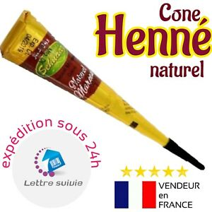 TOP-FIABILITE-Cone-henne-40gr-Vimal-Naturel-EXPEDITION-sous-24h