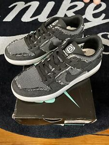 Nike SB Zoom Dunk Low Elite QS Medicom Toy BE@RBRICK Black size 4.5 - 877063 002