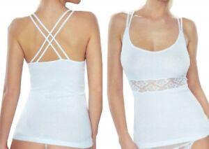 ffd25fb2 White Women Sexy Sleeveless Blouse T-shirt Top