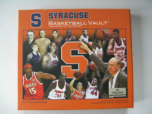 Details About Syracuse Univeristy Basketball Vault The History Of The Orange By Mike Waters