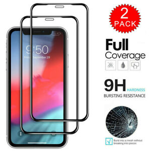 2-Pack-For-iPhone-11-Pro-11-Pro-Max-Full-Cover-Tempered-Glass-Screen-Protector