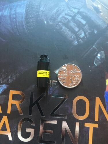 GIOCATTOLI virtuale la zona scura AGENTE Tracy R VER Granata X 1 Loose SCALA 1//6th