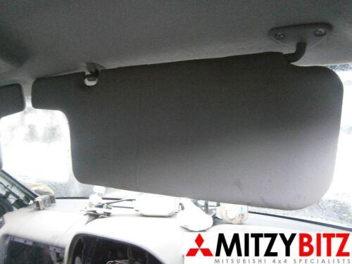 MITSUBISHI SHOGUN PAJERO MK3 00-07 DiD GDi OSF DRIVERS SUN VISOR GREY CLOTH
