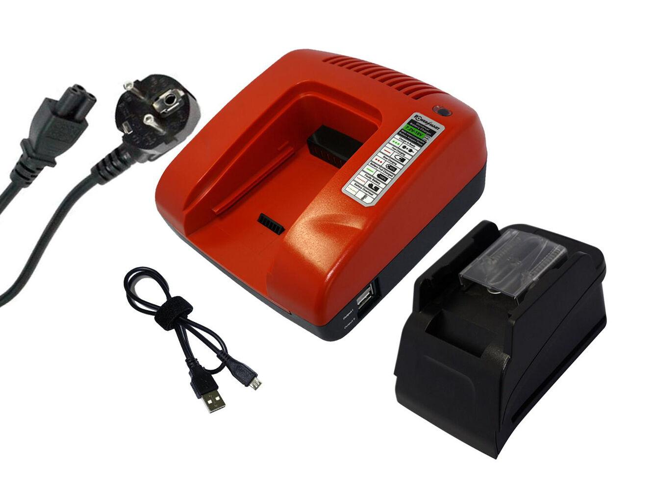 18V Schnellladegerät für Makita BGD801 BHP454 BHP456RFE3 BHR202 BHR243RFE