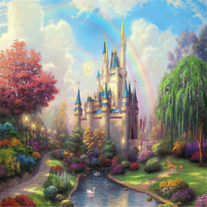 Rainbow-Castle-Jigsaw-Puzzles-1000-Pieces-Assembling-Educational-Toy-Gift