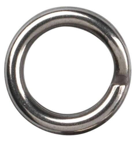 Gamakatsu Hyper Split Ring #4 22kg 10 Stück Sprengringe Springringe Splitrings