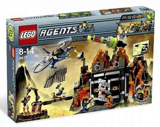 LEGO Agents Mission 8: Volcano Base Exclusive Set  8637