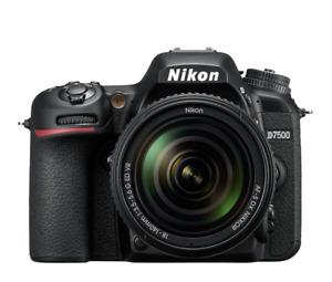 "Nikon D7500 18-140mm 20.9mp 3.2"" DSLR Digital Camera Brand New Jeptall D20"