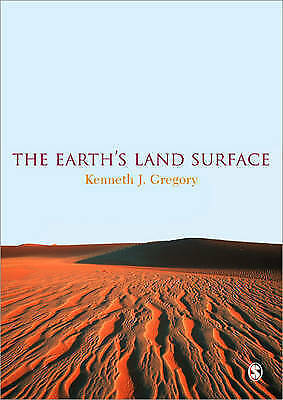 1 of 1 - The Earth's Land Surface, Good Condition Book, Gregory, Kenneth J., ISBN 9781848