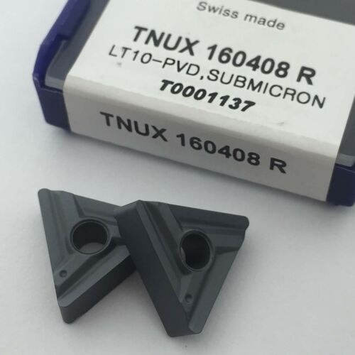10pcs TNUX 160408R TNUX 332 carbide inserts milling cutter grooving blade TNMG