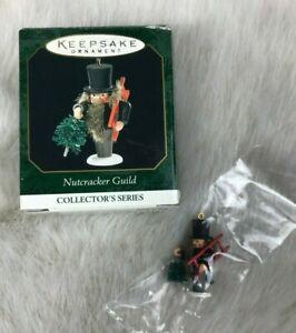HALLMARK-Miniature-Nutcracker-Guild-Christmas-Ornament-Dated-1999